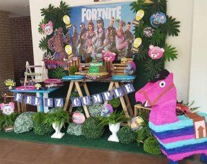 Fiesta De Cumpleaños Fortnite Ideas Para Una Fiesta